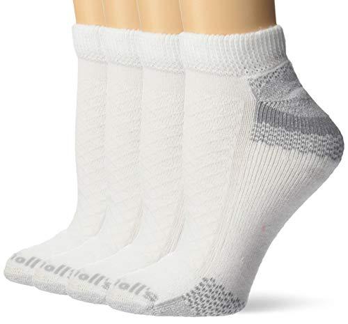 Dr. Scholl\'s Damen DSL-251-2-4T-WEB Legere Socken - weiß - Schuhgröße US: 4-10 (Medium)