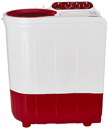 Whirlpool 7 kg Semi-Automatic Top Loading Washing Machine (Ace 7.0 Supreme Plus, Coral Red)