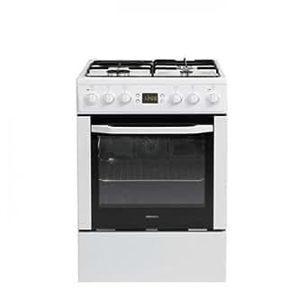 Beko CSE 53320 DW Cuisinière Cuisinière à gaz A Blanc four et cuisinière - fours et cuisinières (Cuisinière, Blanc, Rotatif, Devant, Cuisinière à gaz, Butane)