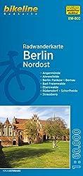 Berlin Nordost (RW-B02) Angermünde, Ahrensfelde, Berlin-Pankow, Bernau, Bad Freienwalde, Eberswalde, Rüdersdorf, Schorfheide, Strausberg, Maßstab 1:60.000, wetter- und reißfest, mit UTM-Netz