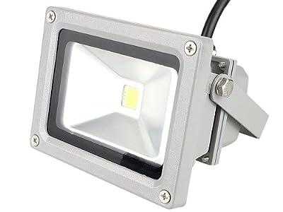 CroLED® 10W IP65 wasserdicht Außenstrhler LED Fluter Flutlicht Scheinwerfer Strahler Weiß Garten Lampe von CroLED auf Lampenhans.de