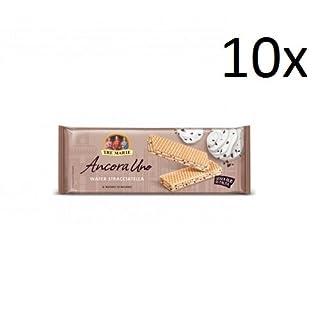 10x Tre Marie Ancora uno Wafer Waffel stracciatella reigel milch und schokolate 140g