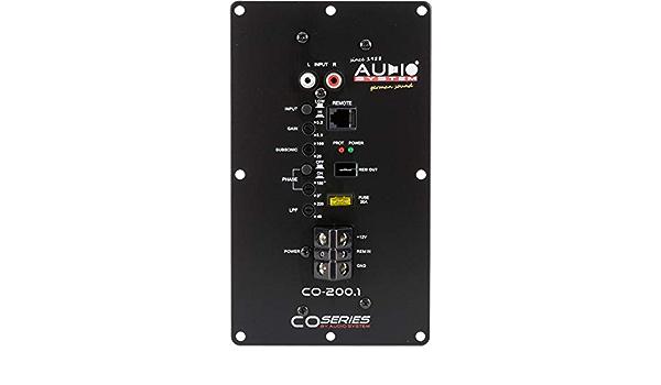 Audio System Co 200 1 1 Kanal Einbaumodulverstärker Elektronik