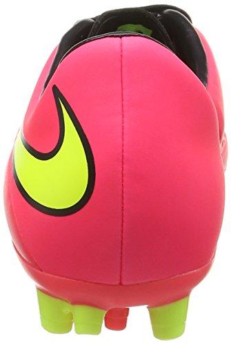 Nike HYPERVENOM Phelon AG Herren Fußballschuhe Rot (Brght Crmsn/Vlt-Hypr Pnch-Blck 690)
