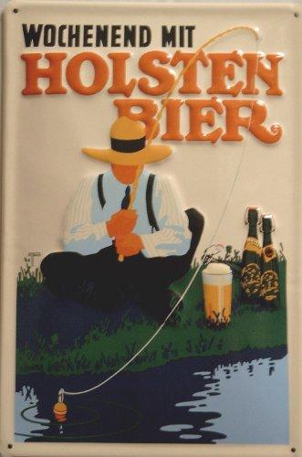 targa-in-metallo-nostalgico-holsten-birra-weekend-hamburg-angler-schild-birra-pubblicita