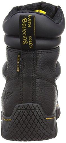 Dr. Martens Purlin, Chaussures de sécurité homme Noir