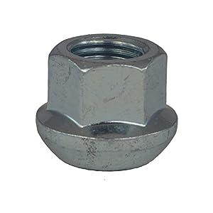 ruta en cone: Tuerca de rueda abierto M14x 1.5, Asís sperique, llave 19, longitud 20mm, blan...