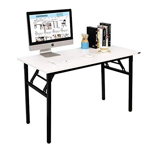 NeedHome Klapptisch Computertisch 120 x 60 x 75 cm PC Schreibtisch Schreibtisch Büroarbeitsplatz...
