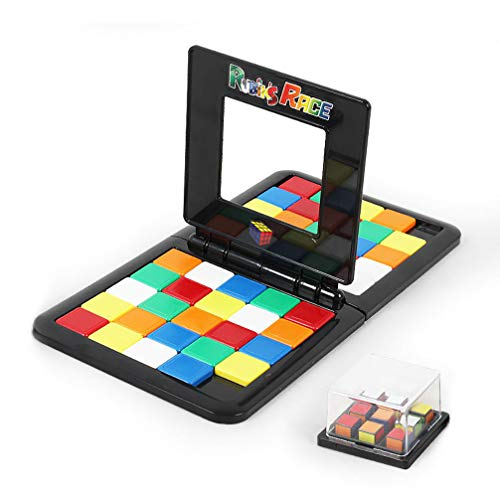 UGUAX Kids Rubik's Race Game und Rubik's Battle Card Game 2 Players University Games Block-board