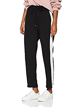 New Look Ox Side Stripe Tim Texture, Pantalones para Mujer