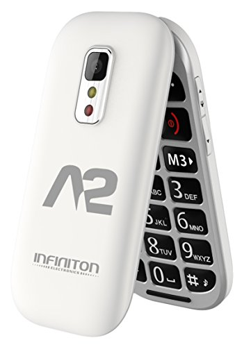 TELÉFONO MÓVIL INFINITON A2/T1 Blanco