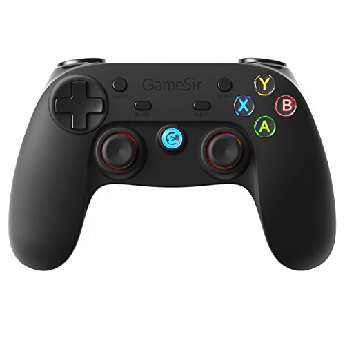 GameSir G3s Wireless Bluetooth Gamepad Game Controller per Android / PC / PS3 - Nero