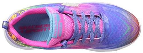 Skechers - Pepsters, Scarpe sportive Bambina Blu (Blue/Pink/Multi)