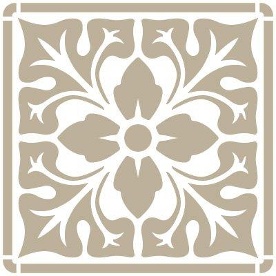 stencil-mini-deco-background-066-tile-iberia-01-approximate-size-stencil-size-12-x-12-cm-47-x-47-in-