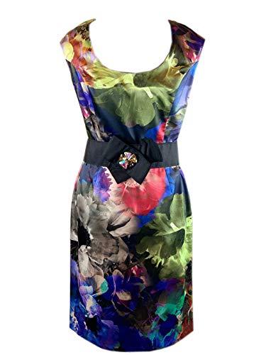 Joseph Ribkoff Women's Cocktail Dress Multi-Coloured Multi-Coloured
