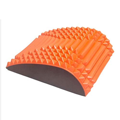 Sit-up Board/Mat, Pad Addominali Ausiliari per Lo Sport, AB Fitness Crunch Yoga Core Waist Strength Training Snellente Stretching per Palestre Domestiche (Color : Orange)