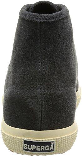 Superga 2095 Sueu Sneakers Alte Unisex Per Adulto F28 Grigio Stone