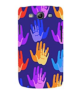 Fabcase voilet abstract hand paint Designer Back Case Cover for Samsung Galaxy S3 I9300 :: Samsung I9305 Galaxy S Iii :: Samsung Galaxy S Iii Lte