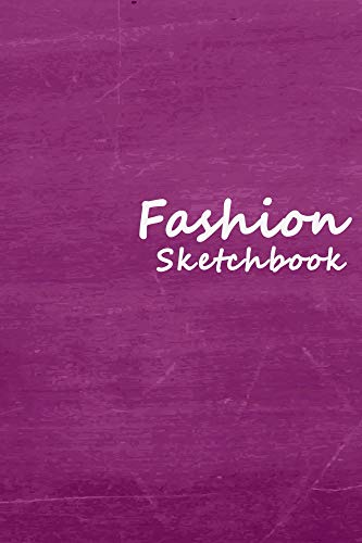 Fashion Sketchbook: Easily sketch your fashion design with 100+ figure template (English Edition)