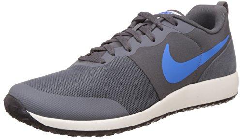 Elite Shinsen Sapatos Masculinos Nike Fitness Ao Ar Livre, Verde, Cinza Talla / Azul Preto (foto Escura Cinza Azul-vela-blck)