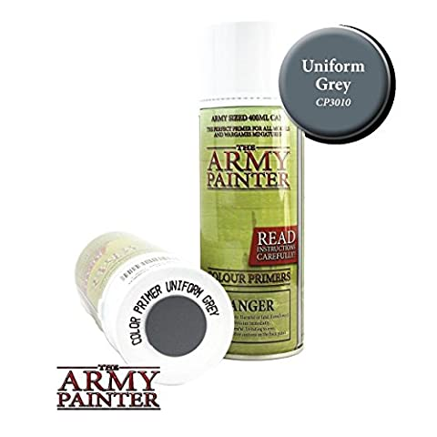 The Army Painter Spray Paint Can Colour Primer Uniform Grey