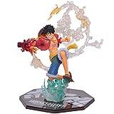 EASTVAPS Figura de One Piece de Luffy Juguete de Boxeo de Fuego