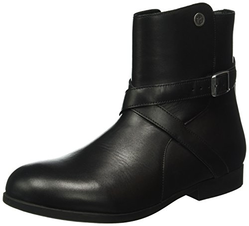 Birkenstock Damen Collins Kurzschaft Stiefel Schwarz (Black)