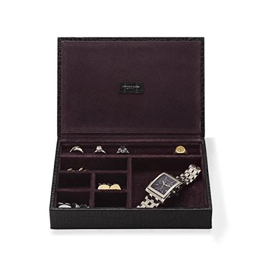 jewellery-box-croc-leather-black