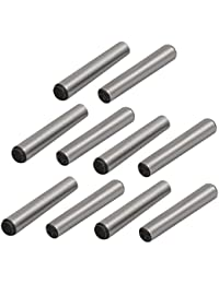 Tradico® Carbon Steel GB117 20mm Length 3mm Small End Diameter Taper Pin 10pcs