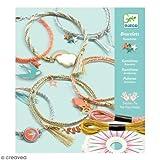 Djeco Kreativ Set Fadenkunst Celeste Armbänder flechten mit Zubehör