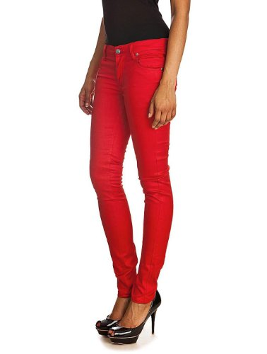 Jeans Narrow Rouge CHEAP MONDAY Rouge