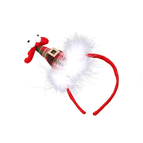 FRCOLOR Weihnachts-Haarbänder, niedlich, süß, Kopfschmuck, Party-Geschenke, Dekoration, -