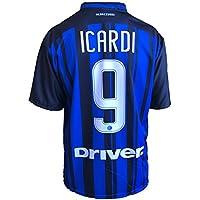 Maglia Calcio Inter Icardi Replica Autorizzata 2017-2018 bambino (taglie 2 4 6 8 10 12) adulto (S M L XL) (12 anni)