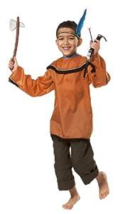 César - Disfraz de indio para niño, talla 10 años (H674-002)