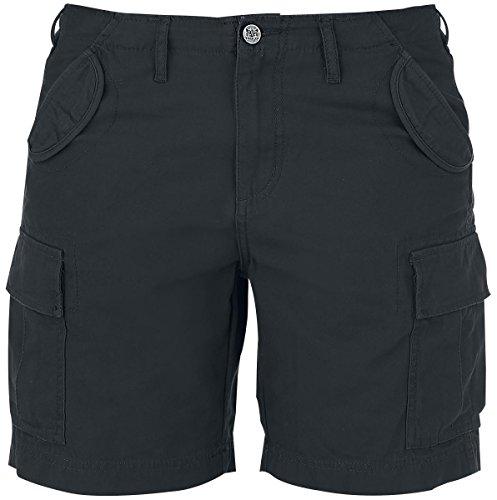 Black Premium by EMP Cargo Shorts Pantaloncini donna nero 29