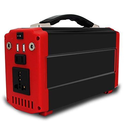 YMXLJJ 220Wh Portable Móvil Generador De Alimentación CPAP Batería De Litio Silenciar 110V/60Hz, Máximo 300W Inversor De Corriente Alterna, Adecuado para Aplicaciones Caseras, Camping O Emergencia