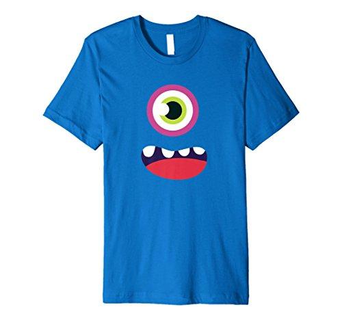 Cute Monster Face T-Shirt Halloween-Kostüm Kinder & Erwachsene - Cute Monster Kostüm Kinder