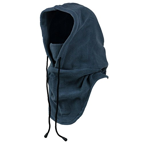 Mangotree Mangotree 6 in 1 Winddichte Vollgesichtsmaske Unisex Tactical Heavyweight Sturmhaube Gesichtsmaske/Skimaske/Hooded Kopfhaube für Sport und Outdoor