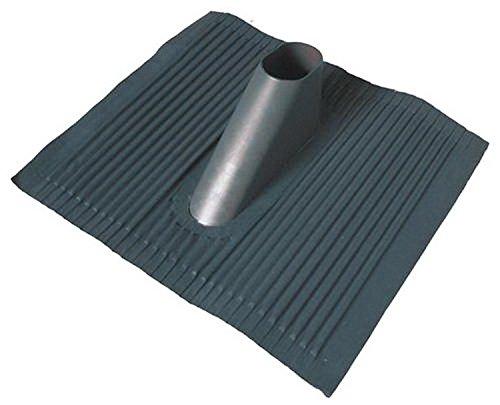 Aluminium - Dachziegel in schwarz; grosse Platte; anpassbar an jede Ziegelform; ...die Alternative zum Bleiziegel; schwermetallfrei, umweltfreundlich [Dachpfanne; Mastdurchführung; Dachabdeckung]