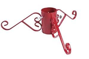 10 2 cm weihnachtsbaum st nder red sparkle garten. Black Bedroom Furniture Sets. Home Design Ideas