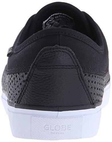 Globe Moonshine Hommes Cuir Chaussure de Basket Black Perfs