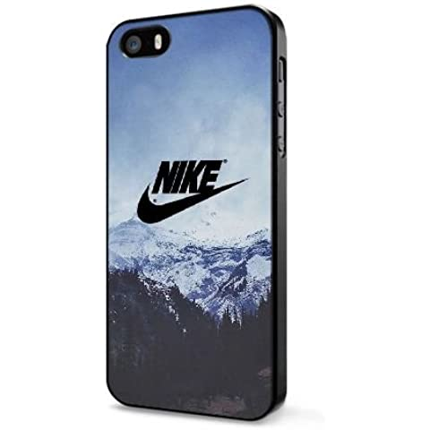 Funda iPhone 4 4S Caso Negro Nike Logo N5N7HP