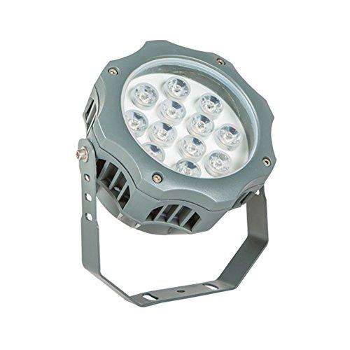 JAYLONG Flutlicht 3W-12W LED, Wasserdichtes IP65, 1200Lm, Super Helle LED-Flut-Lichter Im Freien Für Spielplatz, Garage, Garten, Rasen Und Yard-Modell,3W (12w Cfl)