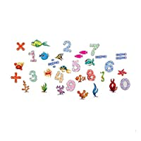 TCCSR Wall Stickers 42 * 23Cm Pattern Number Letters Children