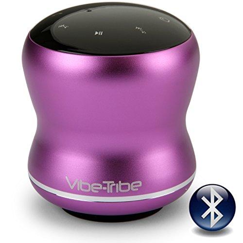Vibe-Tribe Mamba Orchid Purple - 18 Watt Haut-parleurs a Vibration Sans Fil, Bluetooth, NFC, Ecran Tactile, Connexions en série & Mains-libres