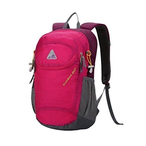 zaino esterno/Tempo libero viaggio zaino/Borse bici sport/borsa impermeabile-Rose Red Rose Red