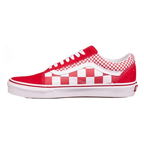 Checker) (Chili Peppers) Herren, Canvas, Sneaker Low, 44 EU ()