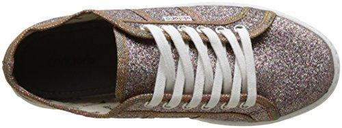 victoria Damen Blucher Glitter Plataf Flach, Silberfarben Multicolore (Multicolor)