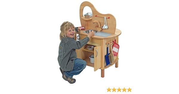 Glückskäfer Spielküche Mit Aufsatz: Amazon.de: Spielzeug