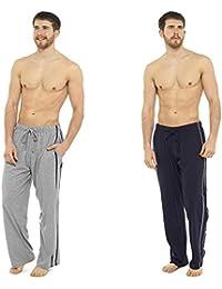 Hombre Largo Ropa de descanso Pantalones Pijama (pack 2) Pantalón De Pijama Pijama